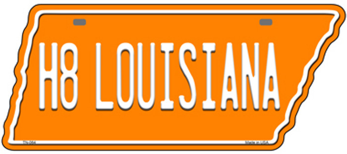 H8 Louisiana Novelty Metal Tennessee License Plate Tag TN-064