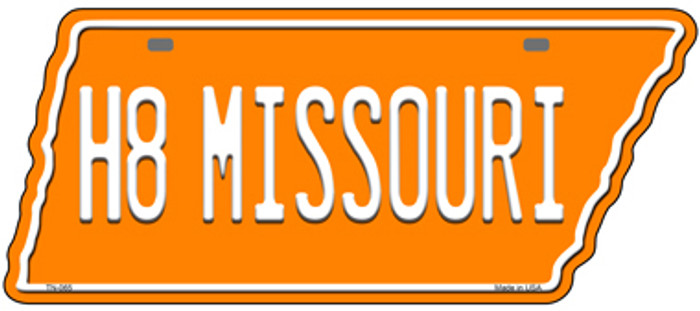 H8 Missouri Novelty Metal Tennessee License Plate Tag TN-065