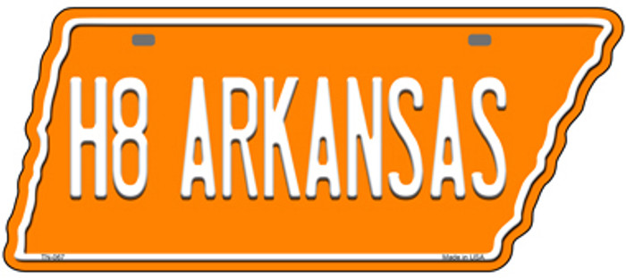 H8 Arkansas Novelty Metal Tennessee License Plate Tag TN-067