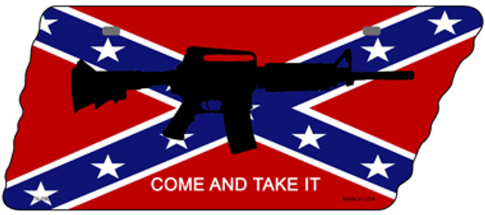 Come and Take It Novelty Metal Tennessee License Plate Tag TN-090