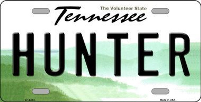 Hunter Tennessee Novelty Metal License Plate