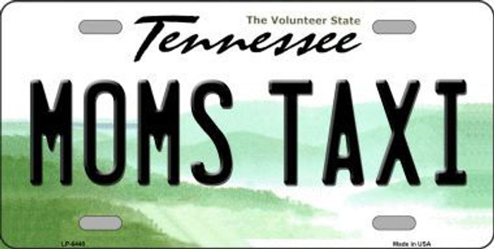 Moms Taxi Tennessee Novelty Metal License Plate