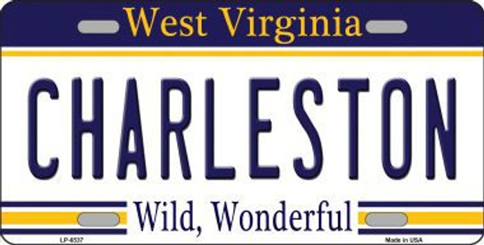 Charleston West Virginia Novelty Metal License Plate