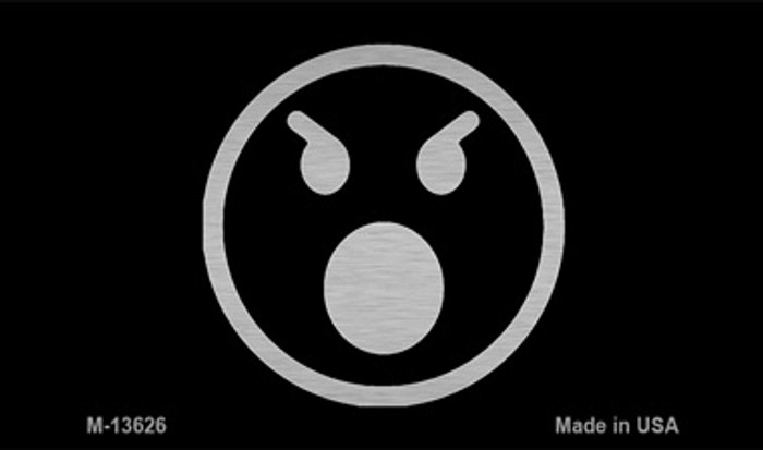 Angry Black Novelty Metal Magnet M-13626