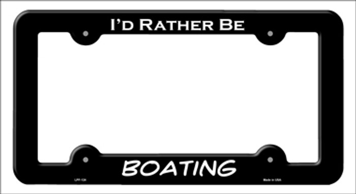 Boating Novelty Metal License Plate Frame LPF-124