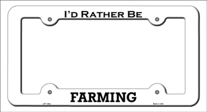 Farming Novelty Metal License Plate Frame LPF-145