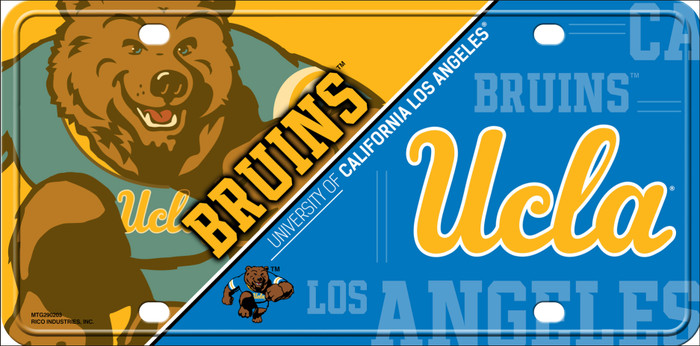 UCLA Bruins Deluxe Novelty Metal License Plate Tag LP-5543
