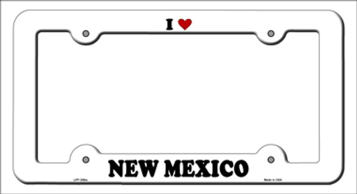 Love New Mexico Novelty Metal License Plate Frame