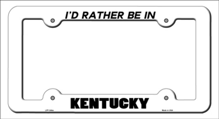 Be In Kentucky Novelty Metal License Plate Frame