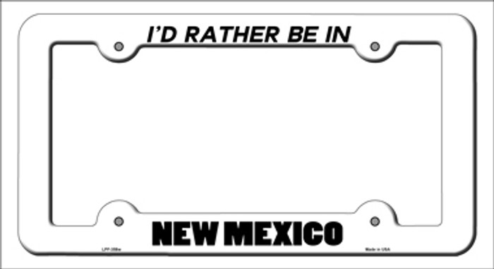 Be In New Mexico Novelty Metal License Plate Frame