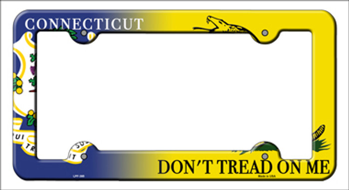 Connecticut|Dont Tread Novelty Metal License Plate Frame