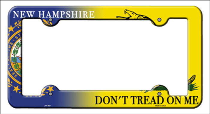 New Hampshire Dont Tread Novelty Metal License Plate Frame