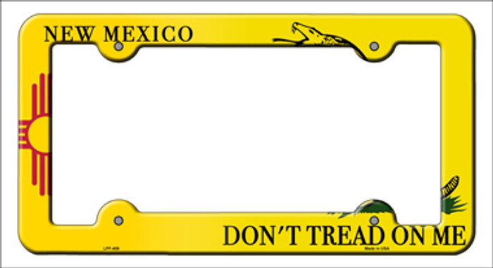 New Mexico Dont Tread Novelty Metal License Plate Frame