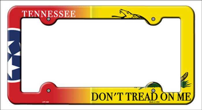 Tennessee Dont Tread Novelty Metal License Plate Frame