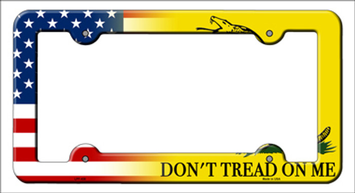 American Flag|Dont Tread Novelty Metal License Plate Frame