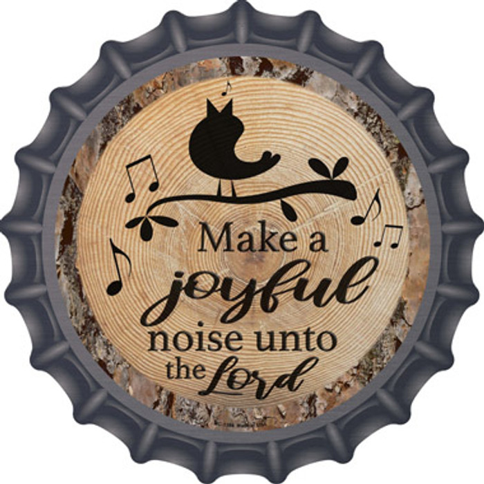 Joyful Noise Novelty Metal Bottle Cap