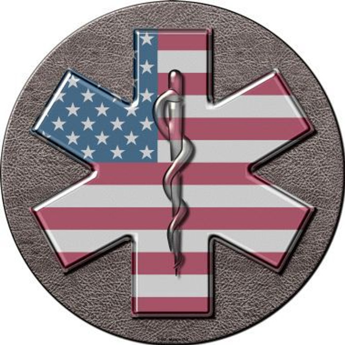 Medical Cross Novelty Metal Circular Sign