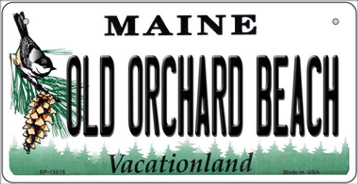 Old Orchard Beach Maine Novelty Metal Bicycle Plate