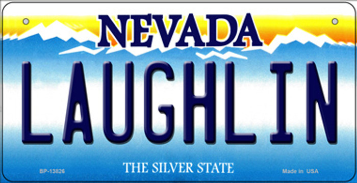 Laughlin Nevada Novelty Metal Bicycle Plate