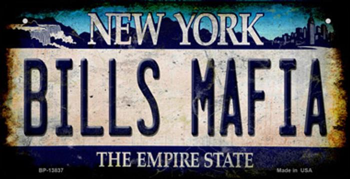 Bills Mafia Novelty Metal Bicycle Plate