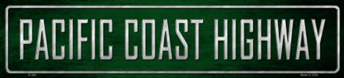 Pacific Coast Highway Metal Novelty Street Sign