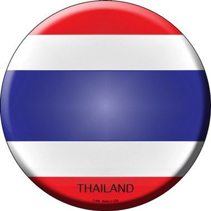 Thailand Country Novelty Metal Circular Sign