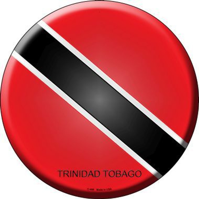 Trinidad Tobago Country Novelty Metal Circular Sign