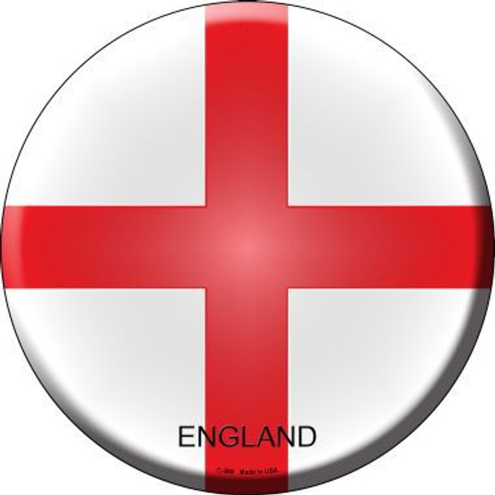 England Country Novelty Metal Circular Sign