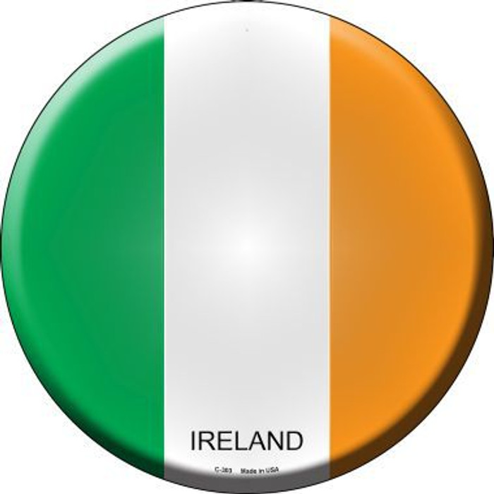 Ireland Country Novelty Metal Circular Sign