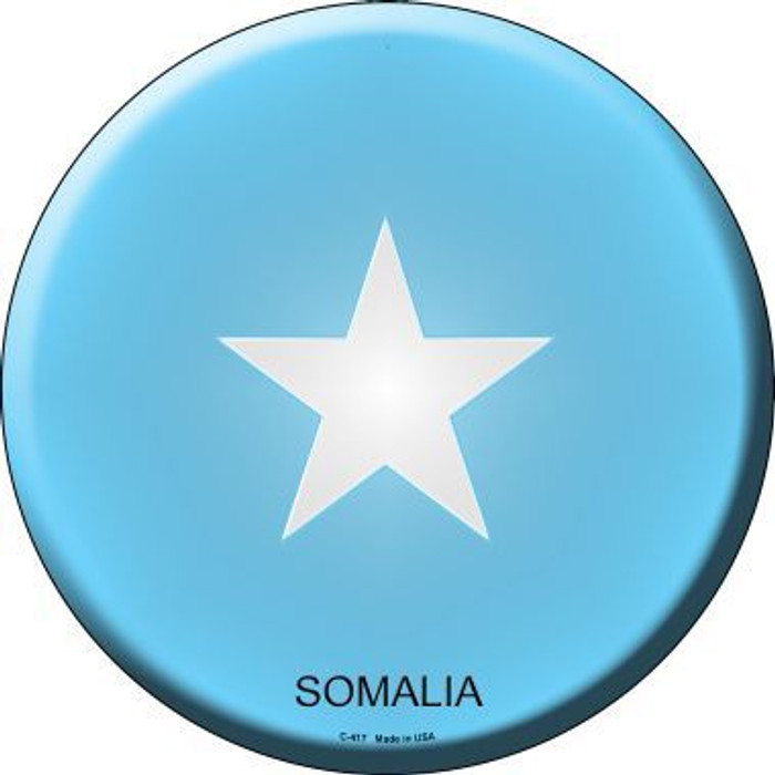 Somalia Country Novelty Metal Circular Sign