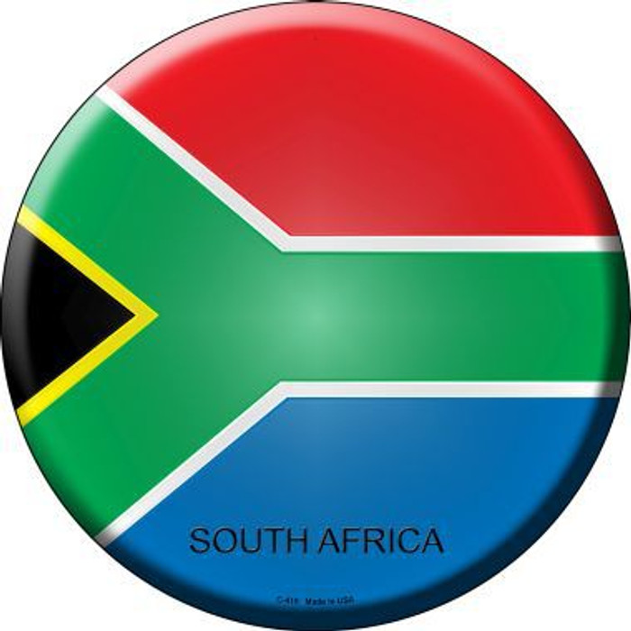 South Africa Country Novelty Metal Circular Sign