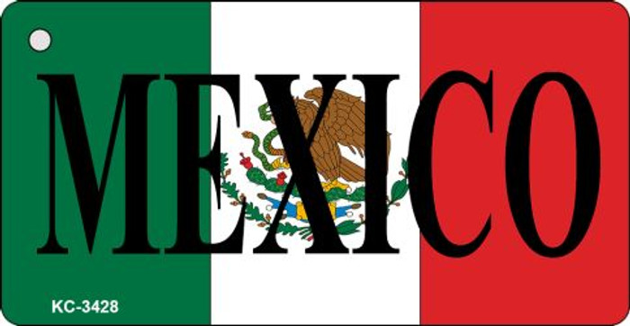 Mexico Flag Novelty Key Chain