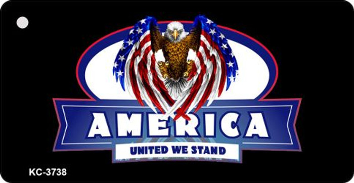 America United We Stand Novelty Key Chain