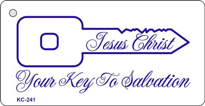 Key To Salvation Mini License Plate Metal Novelty Key Chain