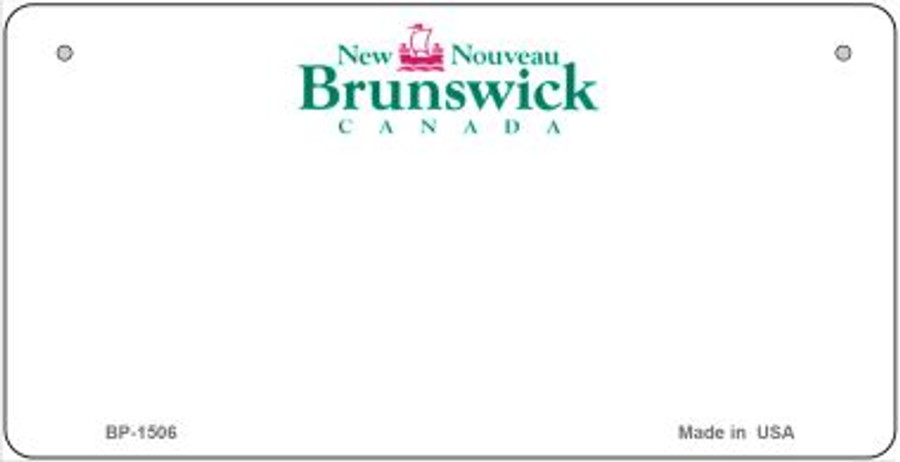 New Nouveau State Novelty Bicycle License Plate BP-1506