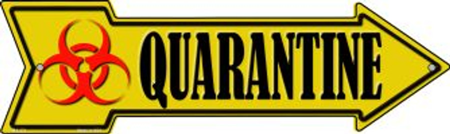 Quarantine Novelty Mini Metal Arrow MA-371