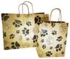 "KPBL - Large Kraft Paper Bag with Handles 16""x6""x12"" KPBS - Small Kraft Paper Bag with Handles 8""x4.25"" x 10.25"""
