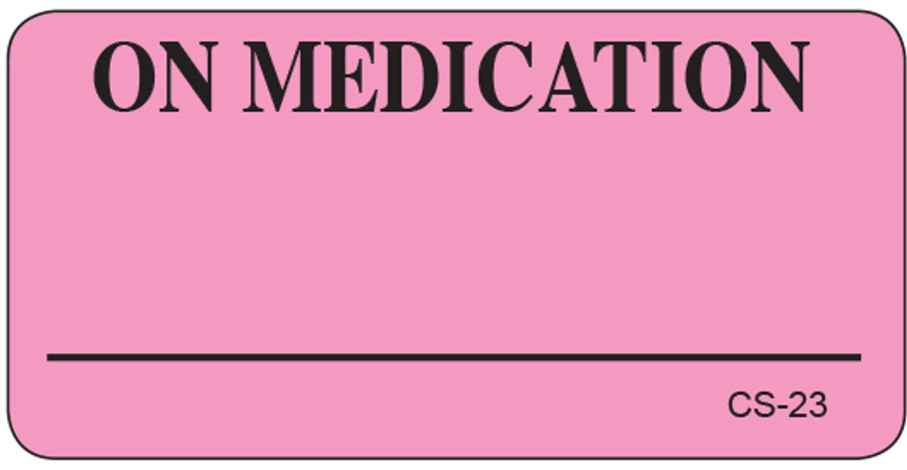 CS-23 Cage Stickers - On Medications