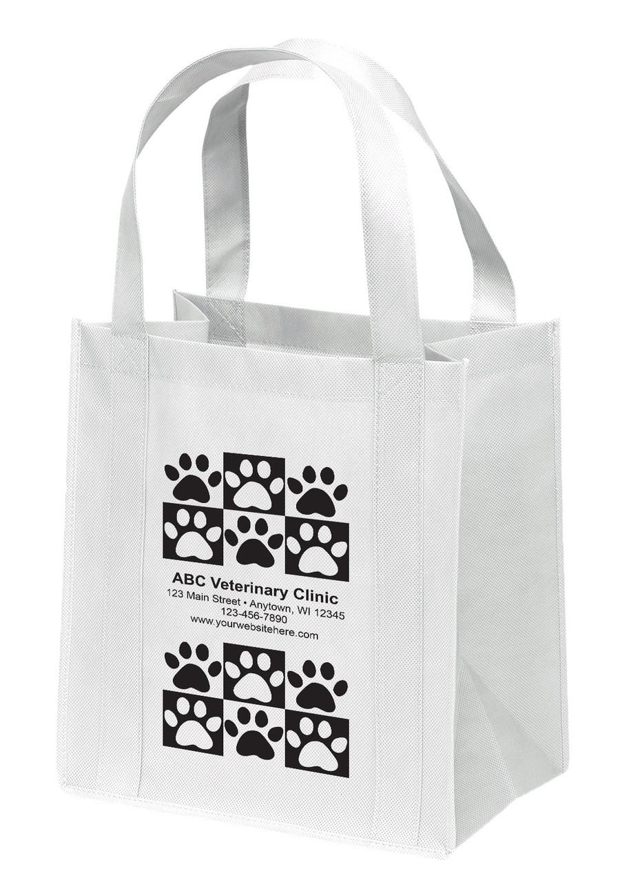 NWL4 - Personalized Non-Woven Tote Bag - 12W x 8 x 13H