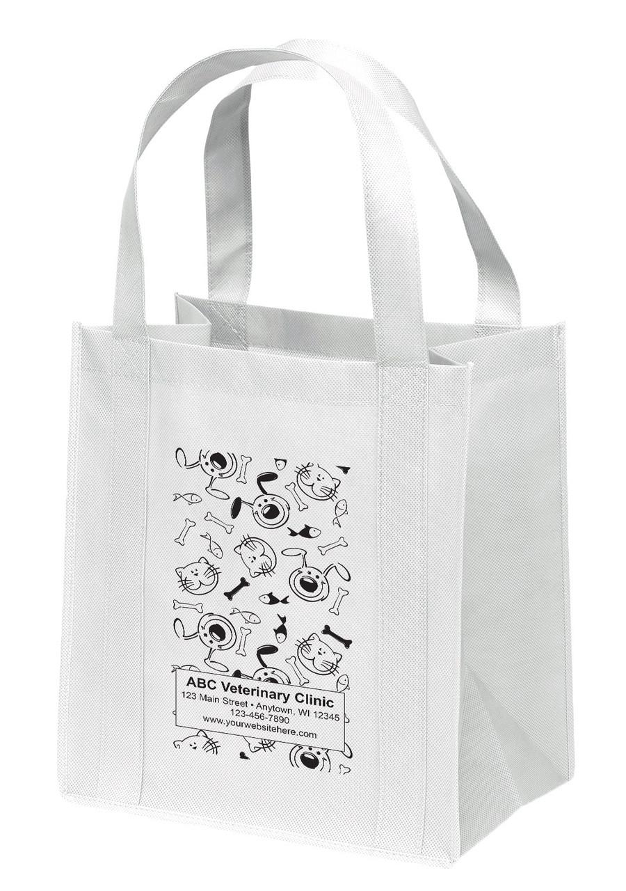 NWL7 - Personalized Non-Woven Tote Bag - 12W x 8 x 13H