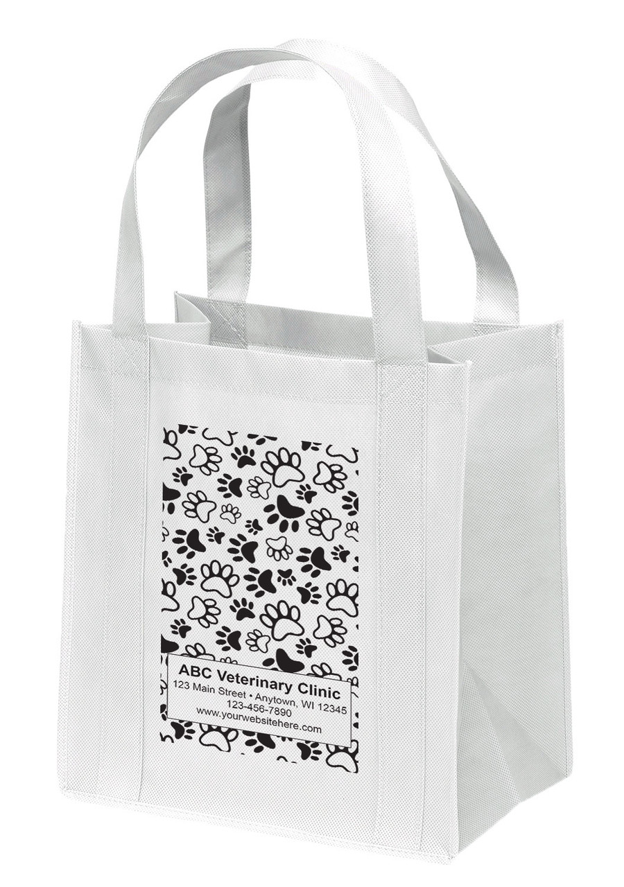 NWS11 - Personalized Non-Woven Tote Bag - 12W x 8 x 13H
