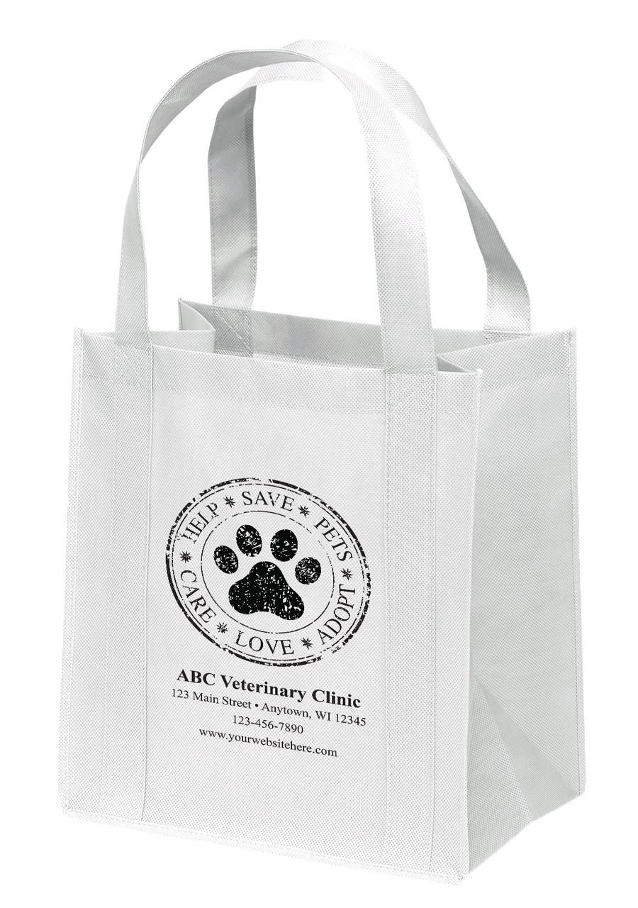 NWL12 - Personalized Non-Woven Tote Bag - 12W x 8 x 13H