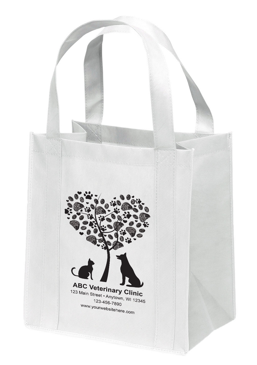 NWL18 - Personalized Non-Woven Tote Bag - 12W x 8 x 13H