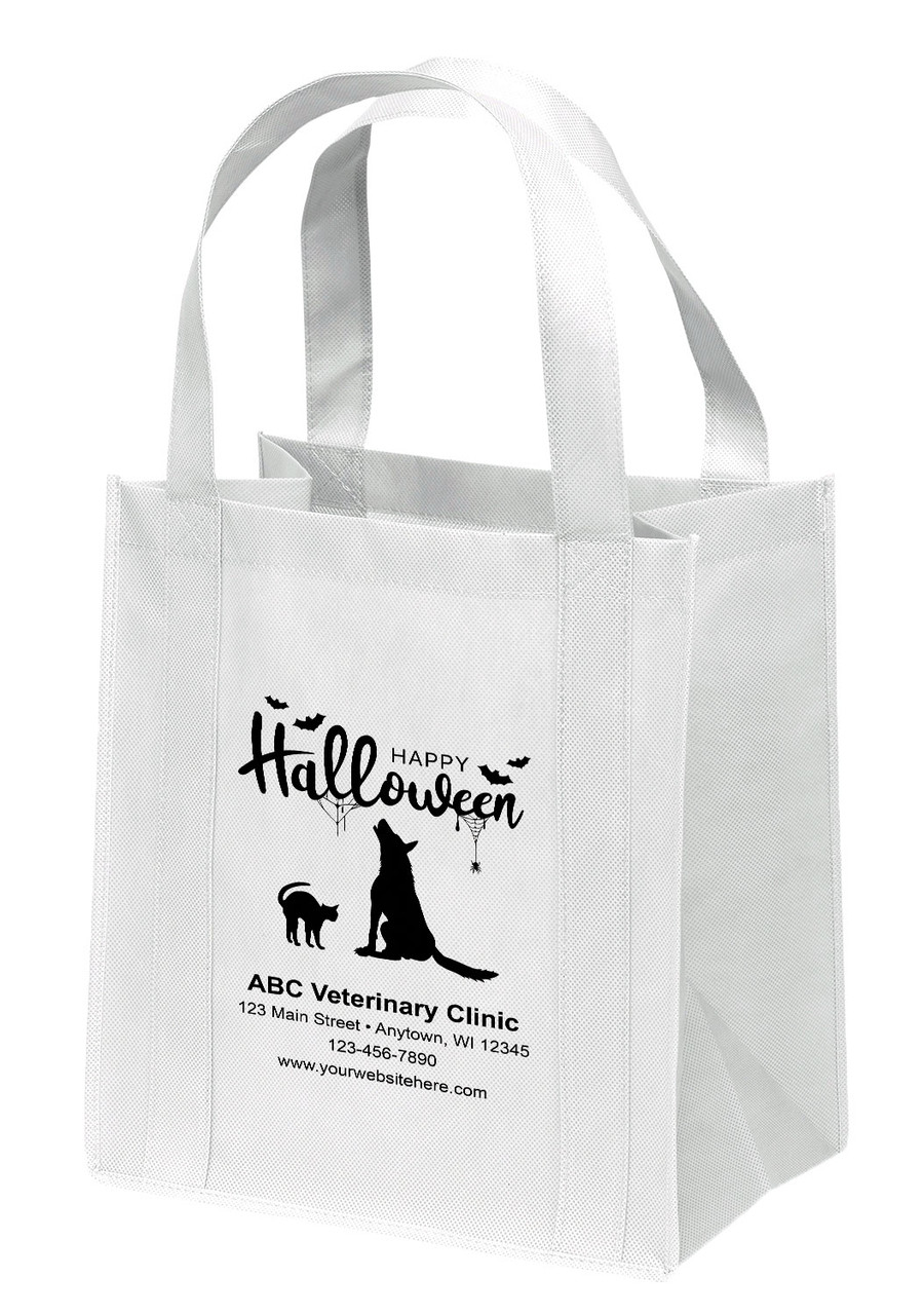 NWS22 - Personalized Non-Woven Tote Bag - 12W x 8 x 13H