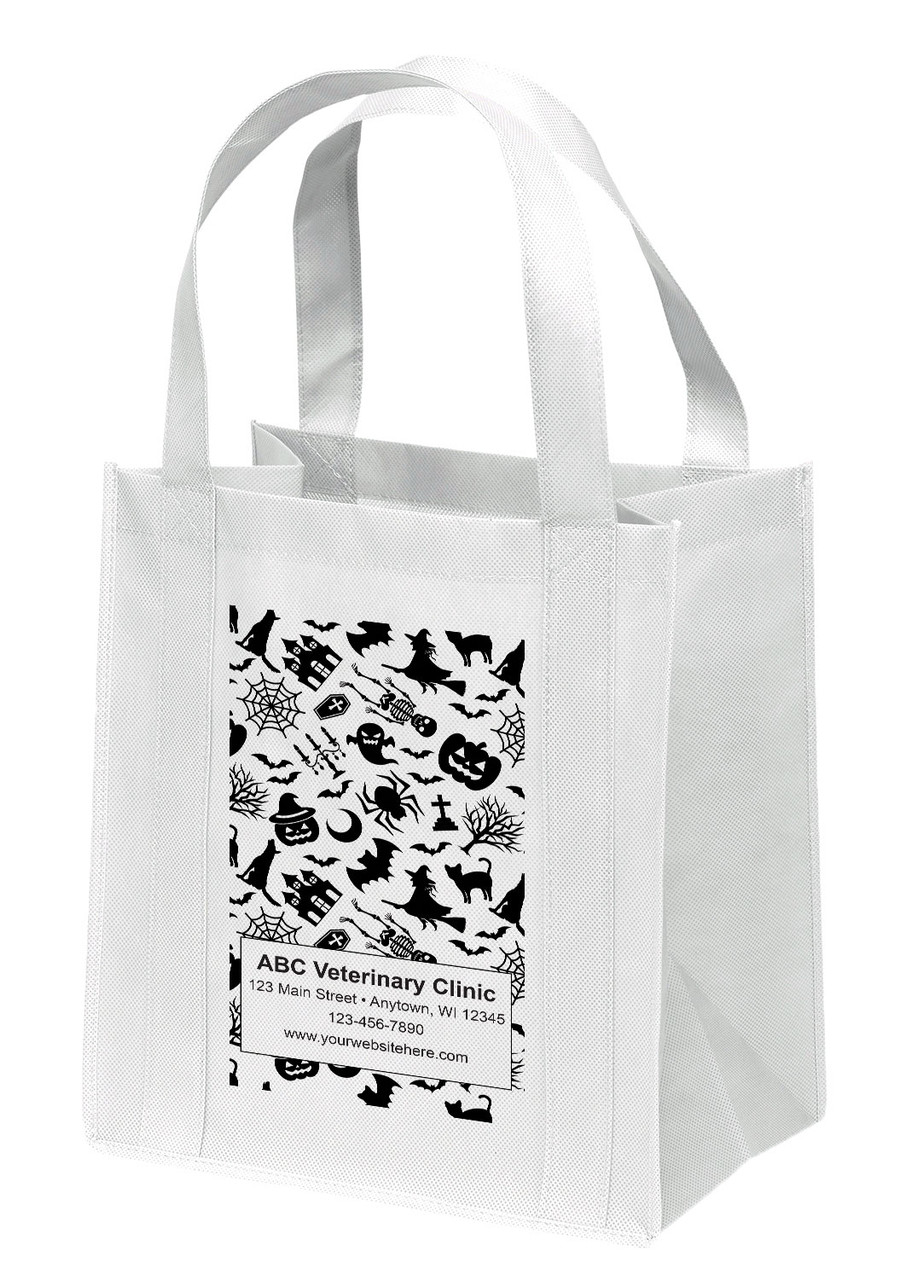 NWS25 - Personalized Non-Woven Tote Bag - 12W x 8 x 13H