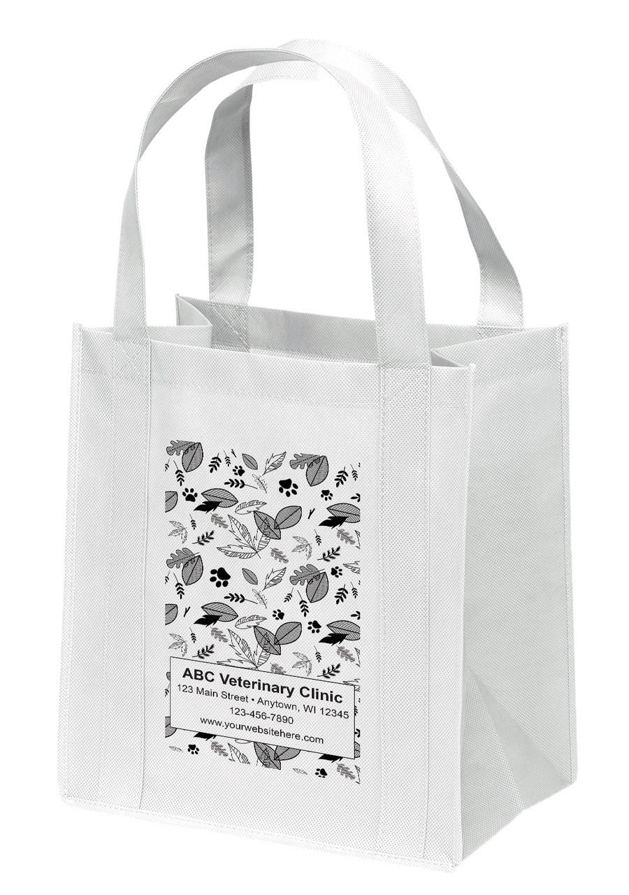 NWL26 - Personalized Non-Woven Tote Bag - 12W x 8 x 13H