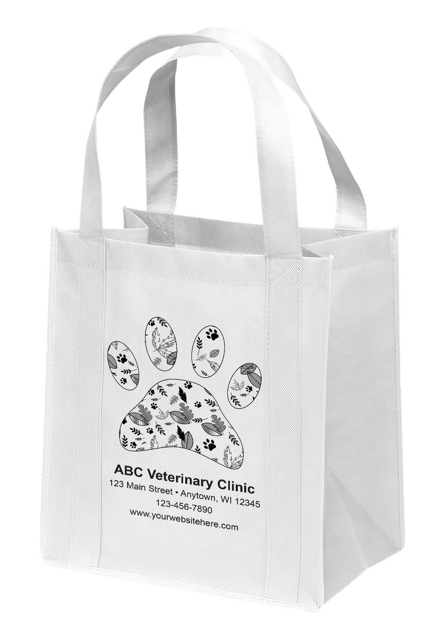 NWS27 - Personalized Non-Woven Tote Bag - 12W x 8 x 13H