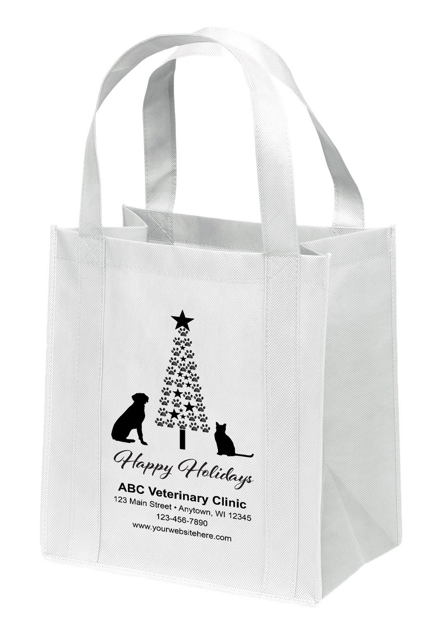 NWS28 - Personalized Non-Woven Tote Bag - 12W x 8 x 13H
