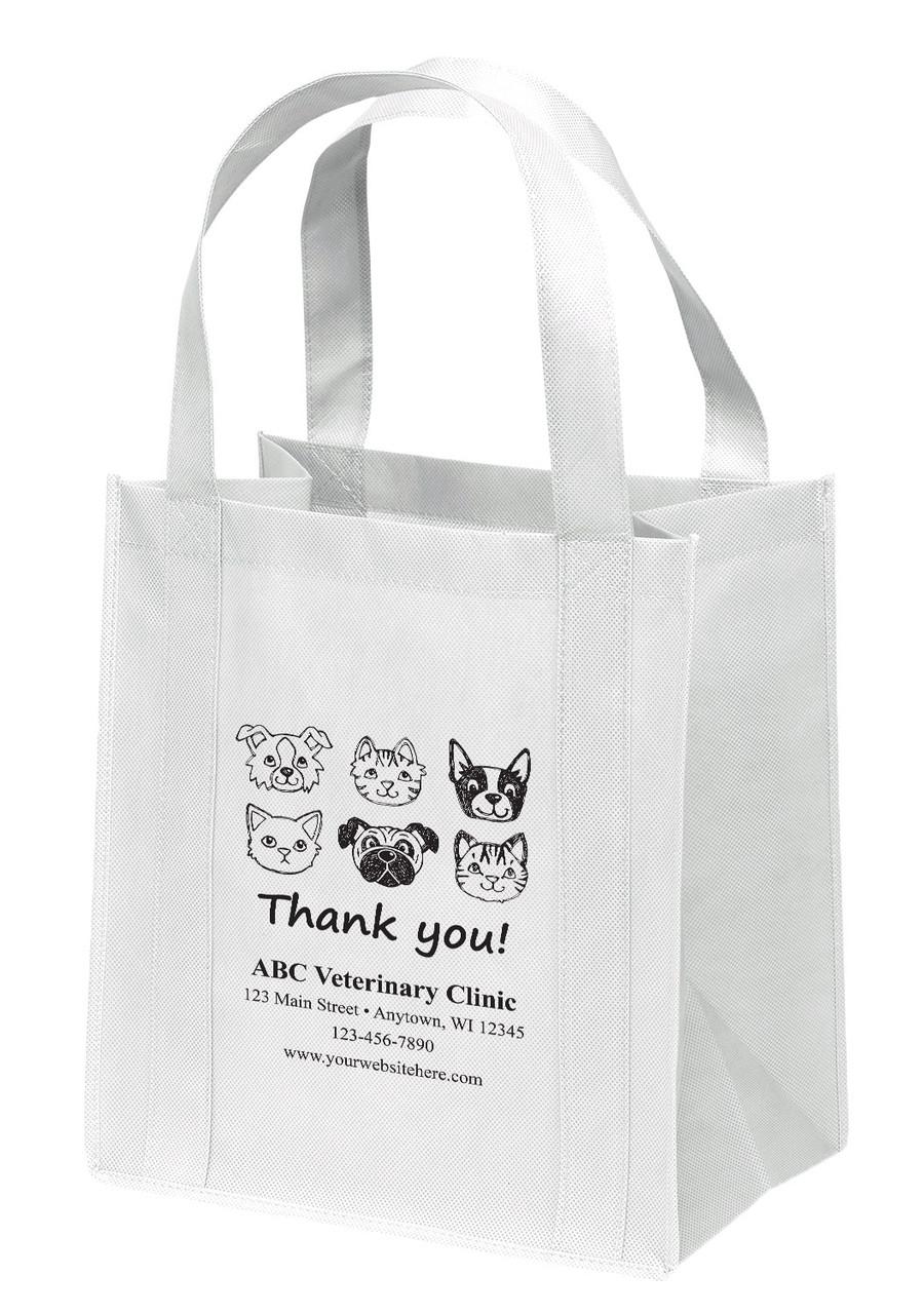 NWL15 - Personalized Non-Woven Tote Bag - 13W x 10 x 15H
