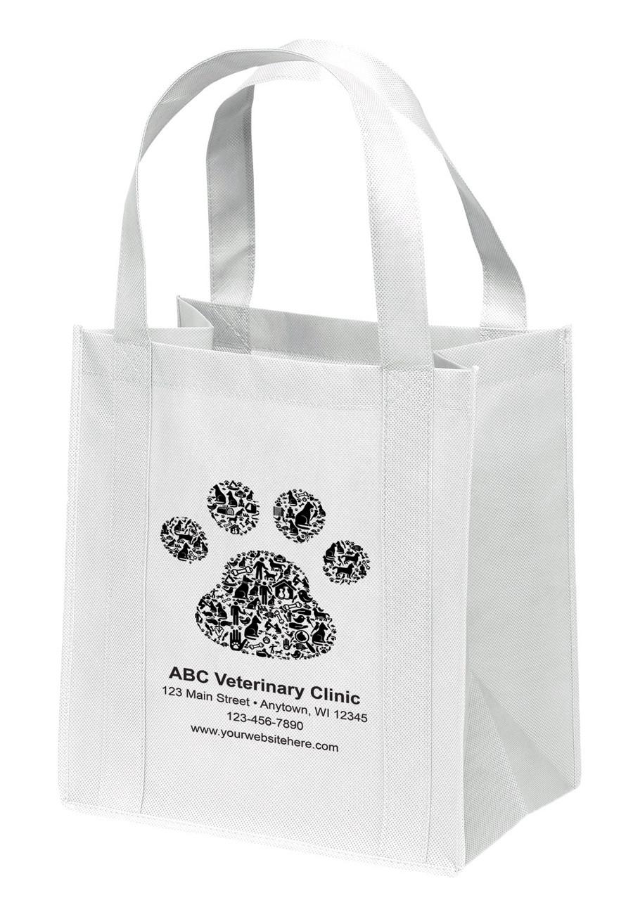 NWB20 - Personalized Non-Woven Tote Bag - 13W x 10 x 15H